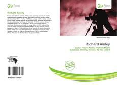 Richard Ainley kitap kapağı