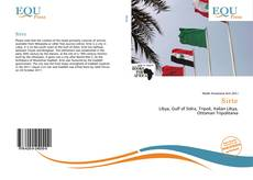 Bookcover of Sirte
