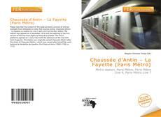 Bookcover of Chaussée d'Antin – La Fayette (Paris Métro)