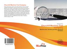 Bookcover of Churchill Machine Tool Company