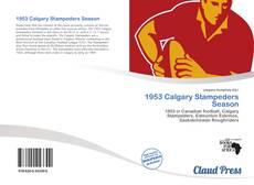 Copertina di 1953 Calgary Stampeders Season