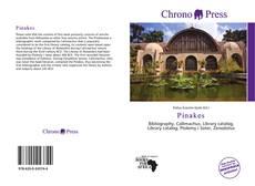 Couverture de Pinakes