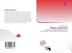 Capa do livro de Régis Labeaume