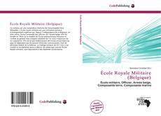 École Royale Militaire (Belgique)的封面