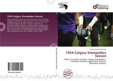 Copertina di 1954 Calgary Stampeders Season