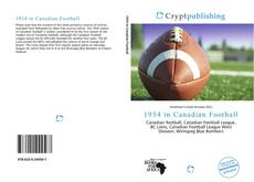 Bookcover of 1954 in Canadian Football