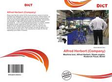 Bookcover of Alfred Herbert (Company)