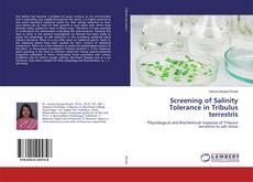 Bookcover of Screening of Salinity Tolerance in Tribulus terrestris