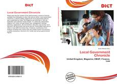 Bookcover of Local Government Chronicle