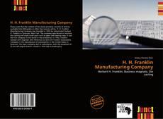 Portada del libro de H. H. Franklin Manufacturing Company