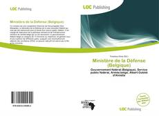 Buchcover von Ministère de la Défense (Belgique)