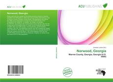 Bookcover of Norwood, Georgia