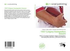 Bookcover of 1957 Calgary Stampeders Season