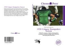 Copertina di 1958 Calgary Stampeders Season