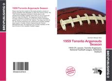 Обложка 1959 Toronto Argonauts Season
