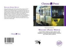 Portada del libro de Marconi (Rome Metro)