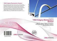 Portada del libro de 1960 Calgary Stampeders Season