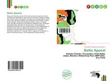 Bookcover of Baltic Appeal