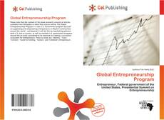 Bookcover of Global Entrepreneurship Program