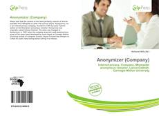 Bookcover of Anonymizer (Company)
