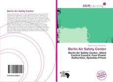 Bookcover of Berlin Air Safety Center