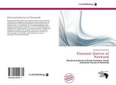 Capa do livro de Electoral district of Norwood