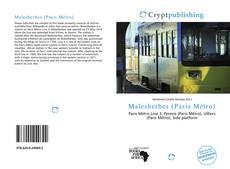 Bookcover of Malesherbes (Paris Métro)