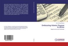 Bookcover of Embracing Islamic Finance in Africa