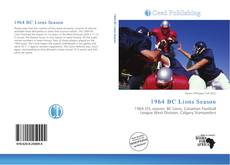 Bookcover of 1964 BC Lions Season