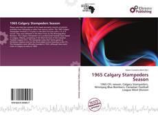 Buchcover von 1965 Calgary Stampeders Season