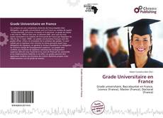 Couverture de Grade Universitaire en France