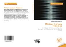 Bookcover of Military Liaison Missions