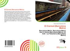 Bookcover of El Carmel (Barcelona Metro)