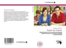 Capa do livro de Lycée en France