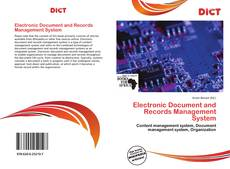 Bookcover of Electronic Document and Records Management System