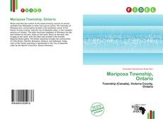 Bookcover of Mariposa Township, Ontario