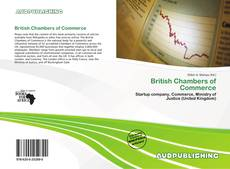 Bookcover of British Chambers of Commerce