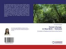 Bookcover of Forest change in Hoa Binh – Vietnam