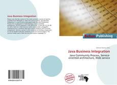 Couverture de Java Business Integration