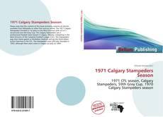 Copertina di 1971 Calgary Stampeders Season