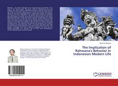 Couverture de The Implication of Rahwana's Behavior In Indonesian Modern Life