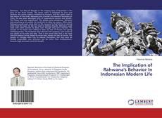 Buchcover von The Implication of Rahwana's Behavior In Indonesian Modern Life