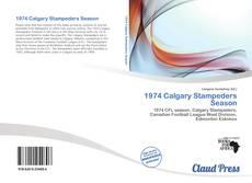 Copertina di 1974 Calgary Stampeders Season
