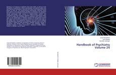 Bookcover of Handbook of Psychiatry Volume 24