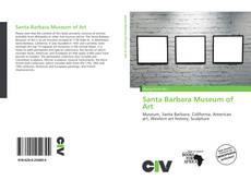 Capa do livro de Santa Barbara Museum of Art