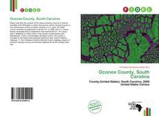 Couverture de Oconee County, South Carolina