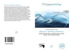 Bookcover of Byrne's Artillery Battery