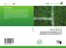 Capa do livro de Steve Bowey