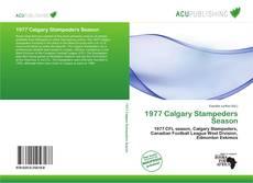 Copertina di 1977 Calgary Stampeders Season