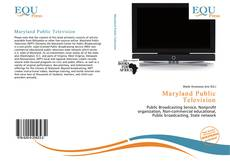 Bookcover of Maryland Public Television